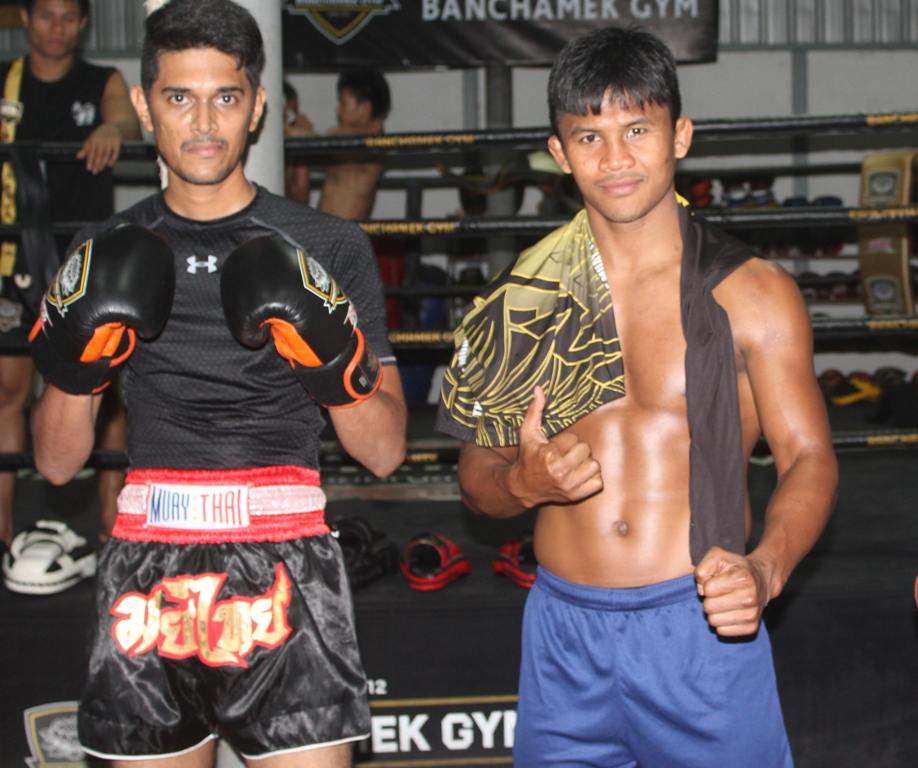 with World K1 & Muaythai champ Bukaw